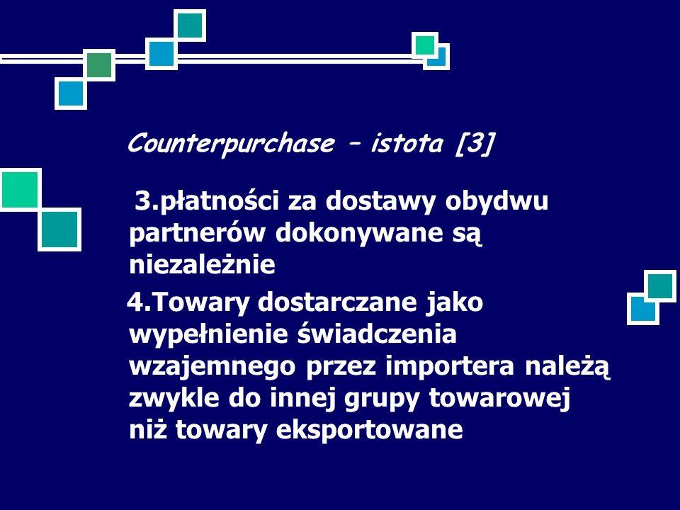 Counterpurchase – istota [3]